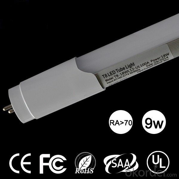 high quality CE ROHS certificated T8LED tube light cheap wholesale, 900mm LED tube 13W