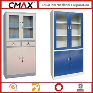 Steel Filing Cabinet with Glass Swing Door  Steel Office Furniture CMXA-FC02