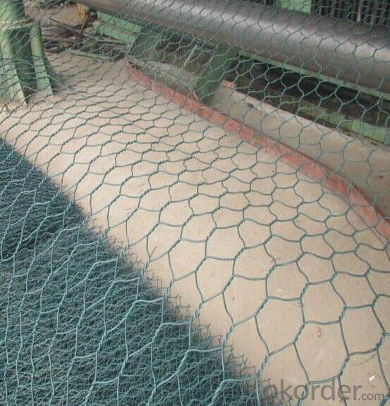 Buy Hexagonal Mesh Gabion Box/Plastic Coated Woven Wire Mesh Gabions ...