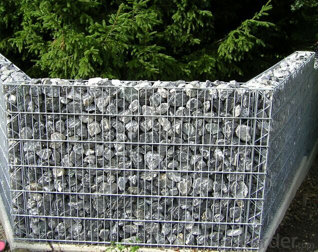 Welded Gabion Basket Heavy Zinc Coated In High Quality