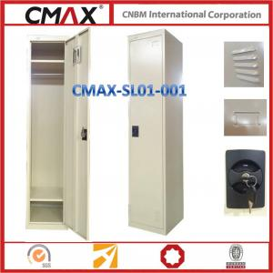 Single Door Steel Locker Labor School Changing Room Usage Cmax-SL1001