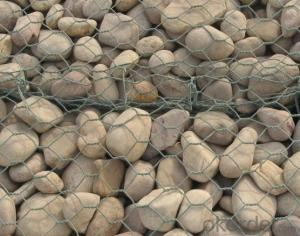 Hexagonal Mesh Gabion Box/Hexagonal Gabion Box/PVC Gabion