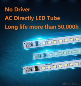 T8 Led Tube 10W 600mm No driver design Alternative Current directly drive