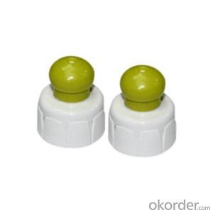 MZ-X01 Plastic cap with ribbed finished