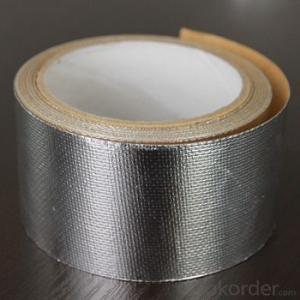 Solvent Insulation Self Adhesive Duct Repair Aluminum HAVC Foil Tape