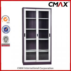 Sliding Door with Glass Steel Filing Cabinet Office Furniture