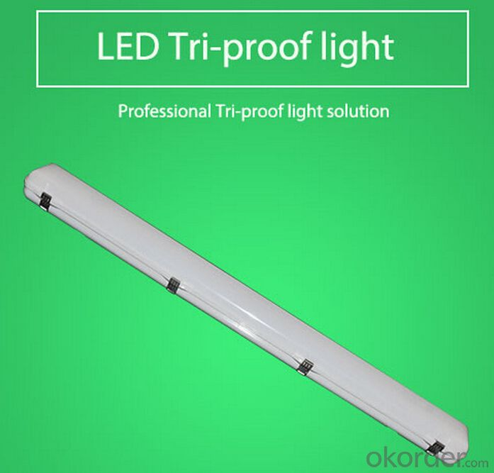 EMERGENCY LED 44W- TRI-PROOF LED LIGHT- IP65-5 YEARS WARRANTY