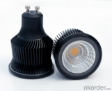 9W LED SPOTLIGHT-COB LED- GU10 PRESSED ALUMINUM