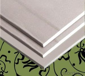 Moistureproof fireproof wave decorative gypsum board