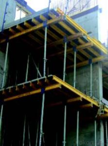 H20 Timber Beam Formwork for Straight Concrete Wall in China