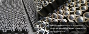 Steel Coupler Rebar Steel Made in Jiangsu China with Good Price