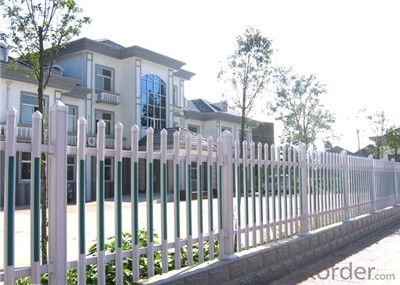 Semi Privacy Vinyl Panel Fence for Gate and Garden