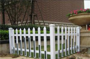 Decorative Plastic Fence for Garden and Small Garden Fence