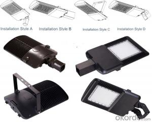 listed 8 Years Warranty 50W Solar Powered LED Streetlights 120W-240W