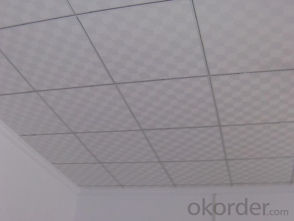 Buy High Quality Pvc Faced Gypsum Ceiling Tiles Pricesizeweight