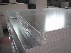 Productive pvc laminated gypsum ceiling tiles
