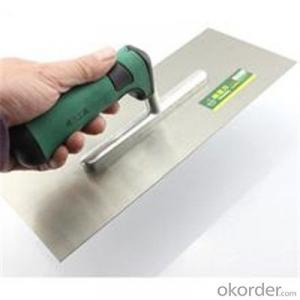 Stainless Steel Putty Knife Construction Tools Wooden Handle Scraper
