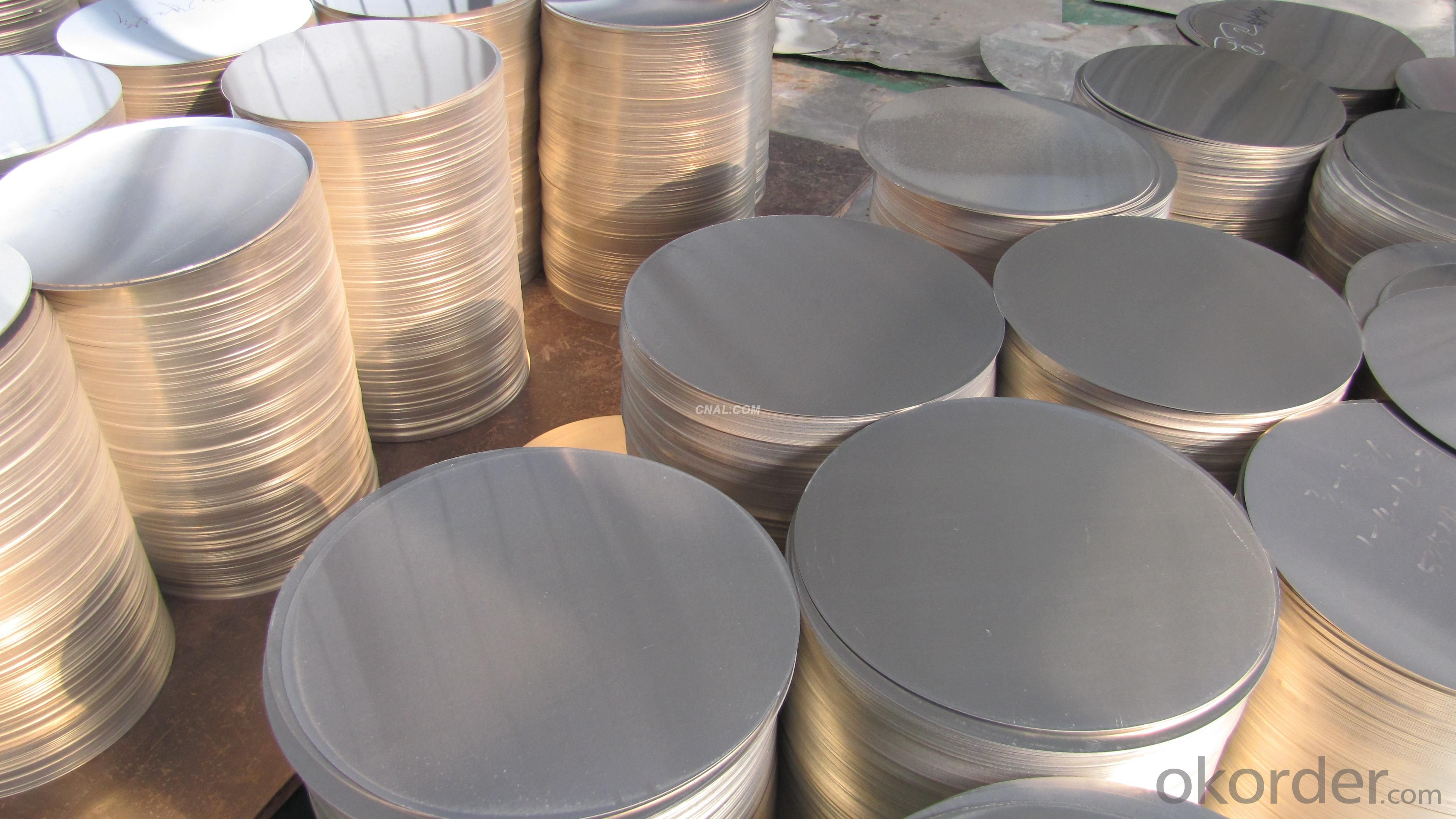 Non-Stick Aluminum Circles Disc Disk For Deep Draw Press Cookware Product
