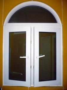 PVC window American style and European style  with Low E glass