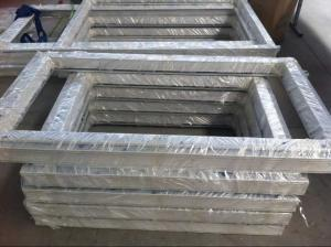 PVC slding /hung/casement window door with film packing