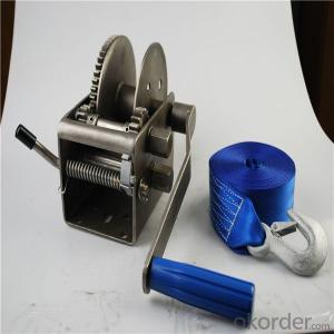 Portable Hand Winch 1200 lbs Manual Small Winch