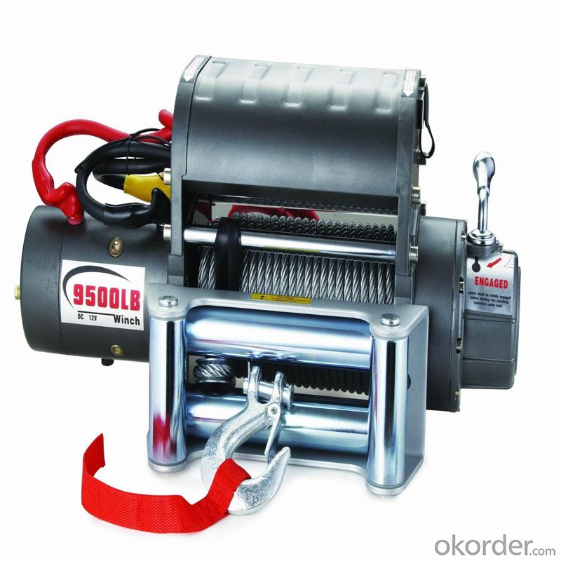12000LBS 12V 24V DC Self Recovery Electric Winch with Steel Cable