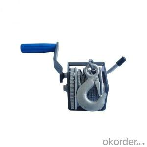 Mini Hand Winch 1500 lbs Manual Small Winch