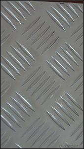 Mill Finish Five Bar Aluminium Tread Sheet 5052 HO for Toolbox