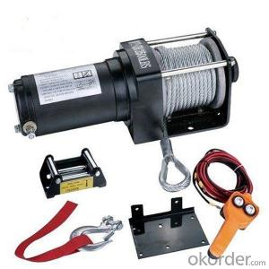 Power Cable Winch 12v/24 Handheld Remote