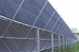 Sun Shade Net With Black Virgin Material 20% - 95% Shading Rate