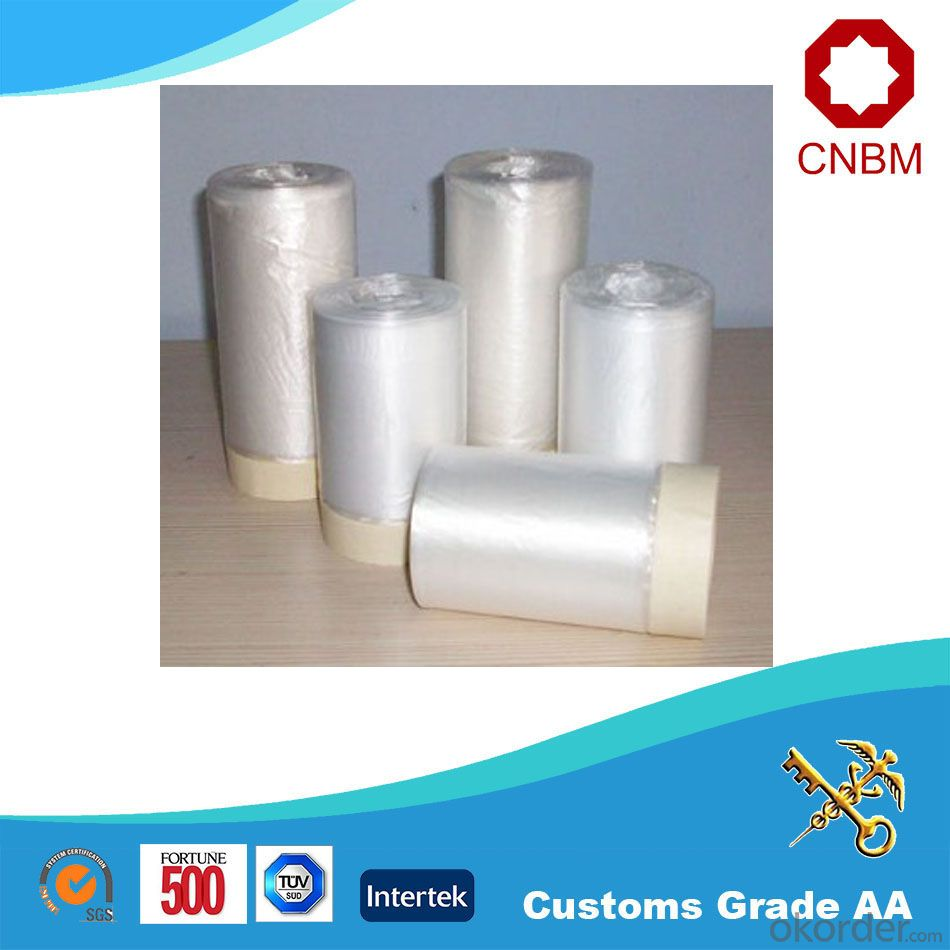 Buy Stretch Film Masking Protective Cast For Auto Paint
