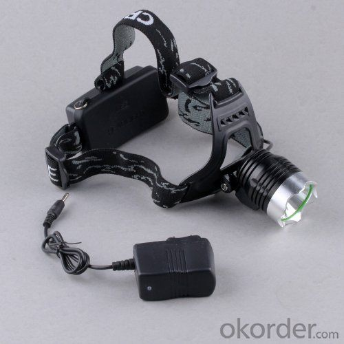 LED Headlamp Zoom CREE Super bright T6 for Bicycle Bike