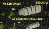 LED Street light 80-240W 5Years warranty 140L/W No Driver AC Directly drive