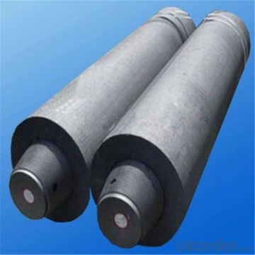 UHP Grade Graphite Electrode with Nipples for Laddle Furnace