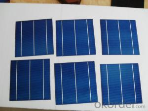 6 Inch 3BB Monocrystallin Best Solar Cell Price 18.0%