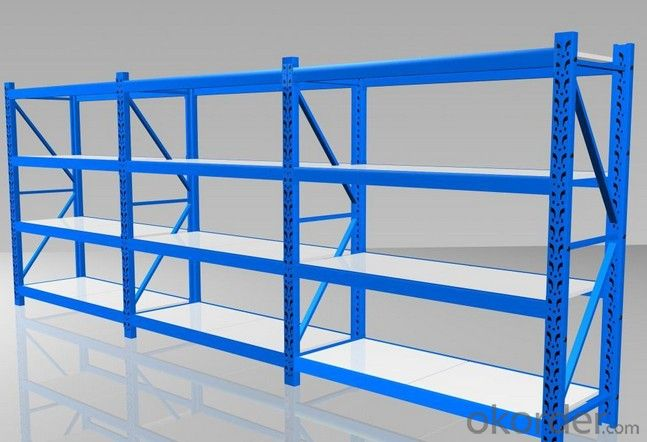 Light Duty Type Pallet Racking Systems for Warehous