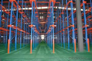 Drive in Type Pallet Racking System for