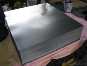 Tinplate for food cans and chemical cans with good quality
