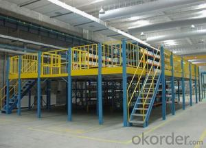 Steel Platform of Warehouse Storage Usage