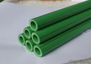 PPR Green Pipes for cold water PN1.25, 25*2.3mm