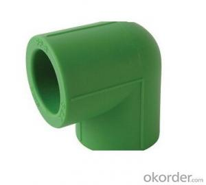 PPR Green Fitting Elbow with equal diameter