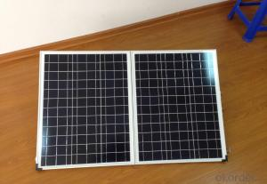 Portable Monocrystalline Folding Solar Panel 120W for Camping