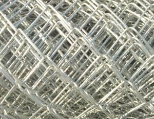 Diamond Holes galvanized chain link wire mesh in High Quality