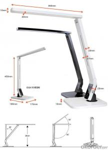USB Eye Protection Studio/Shop Table Lamp with Auto Closing