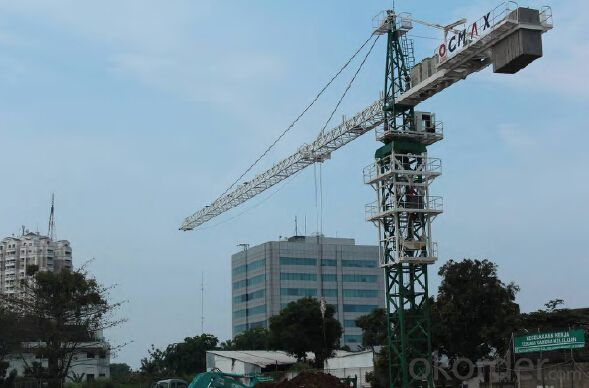 CMAX TTC8018-12FLAT TYPE TOWER CRANE  WITH MODULAR DESIGN