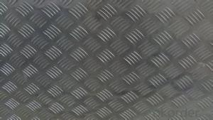 Mirror Five Bars Embossed Aluminum Sheet, Aluminum Checker Sheet