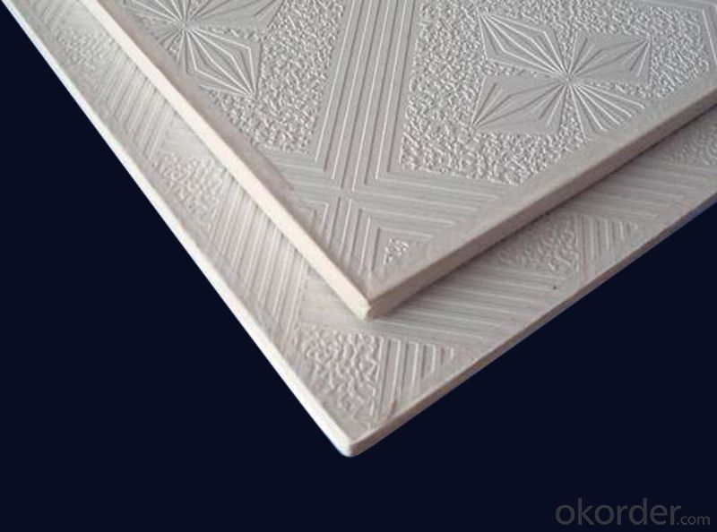 Plastic PVC Gypsum Ceiling  Decorative Sheet