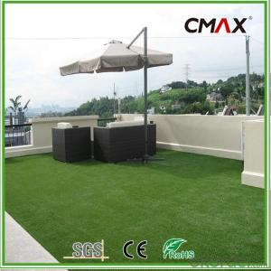 35mm Roof Terrace Garden Artificial Grass PE Curly Yarn Turf