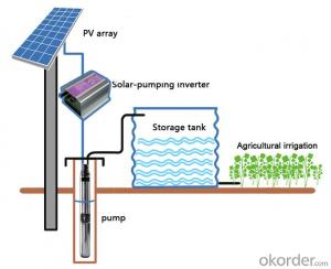 Solar Irrigation Pump Solar Panel Water Pumps