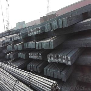 Prime hot rolled steel square billet mill price